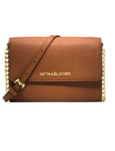 Michael Kors Jet Set Travel Phone Large 7 Iphone Luggage Cross Body Bag ... - $94.00
