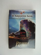 Riviera Hotel & Casino Las Vegas Deck Of Cards Souvenir New Sealed - $9.00