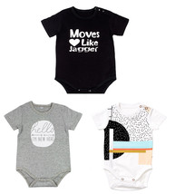 StylesILove Cute Character Baby Boy Short-Sleeve Jumpsuit - $11.99