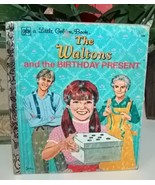 The Waltons And The Birthday Present Little Golden Book  - $8.00