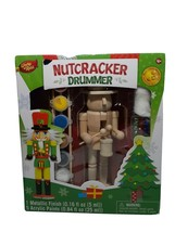 Nutcracker Soldier Handcrafted Wood Works of Ahhh Painting Kit Non Toxic... - $17.45
