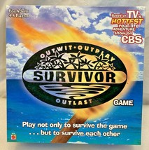 Survivor Outwit, Outplay, Outlast Board Game, New, 2000 - $12.86