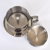 Stainless Steel Pot Coffee Filter Coffee Maker Coffee Filter Pot Filters... - £15.58 GBP