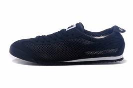 Asics Onitsuka Tiger Men's Mexico 66 black Suede Mesh Fashion Sneaker D5... - $69.00