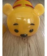 WINNIE The POOH Tsum Tsum Stack 'n Display Carrying Case Disney W/ 5 Tsu... - $24.74