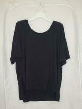 Women's Short Sleeve Top - JoyLab Black XL - $13.85