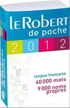 Le Robert de poche 2012 (French Edition) [Paperback] Collectif - $29.39