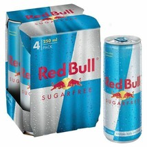 Red Bull Sugar Free 4 x 250ml, 6 Pack - $78.53