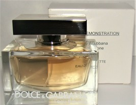 D&G L' EAU THE ONE 2.5OZ EDT SPRAY FOR WOMEN BRAND NEW IN TESTER BOX - $123.75