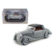 1950 Mercedes 170s Soft Top Gray 1/32 Diecast Model Car by Signature Mod... - $33.82