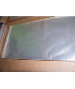 6 - 12 X 20 PRINT ART NEWSPAPER CLEAR CELLO ARCHIVAL STORAGE ACID & LIGN... - $26.72