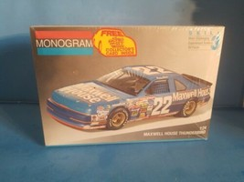 1991 FORD THUNDERBIRD # 22 MAXWELL HOUSE STERLING MARLIN MONOGRAM 1/24 NEW - $23.36