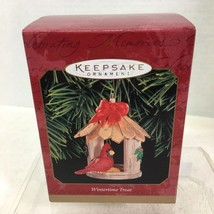 1999 Wintertime Treat Birdfeed Hallmark Christmas Tree Ornament MIB Pric... - $22.28