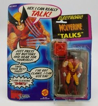 Marvel Wolverine Uncanny X-Men Toy Biz 1991 Talking Electronic Action Fi... - $24.63