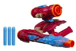 Nerf Marvel Avengers: Infinity War IRON MAN Assembler Gear Dart Blaster - New - $39.39