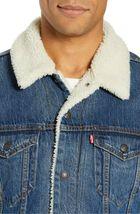 Levi's Strauss Men's Cotton Sherpa Lined Denim Jean Trucker Jacket 163650040 image 4