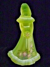 Fenton Glass Bridesmaid Doll Figurine Jillian Collection Birthday Editio... - $177.64