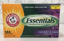 Arm & Hammer Lavender & Linen Fabric Softener Dryer Sheets 144 count - $7.05