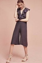 New Anthropologie Cascada Jumpsuit by Maria Stanley NWT $118 SMALL Blue - $55.44