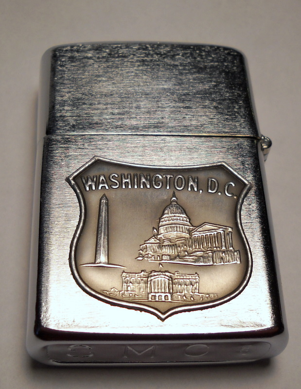 Primary image for 'Washington D.C.' vintage cigarette lighter