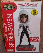 2016 NECA Head Knockers Marvel Spider Gwen SDCC Limited Edition Bobble Head NIB - $59.99
