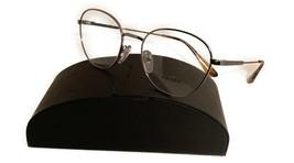 Prada Women's Silver Gunmetal Glasses with case VPR 52V 5AV 1O1 52mm - $185.99