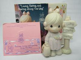 Precious Moments 1993 Ornament Loving Caring and Sharing Along The Way P... - $13.30