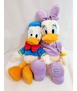 The Disney Store And Parks large Plush Donald Duck and Genuine Authentic... - $24.75