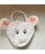 Small Angelina Ballerina for American Girl White Plush Mouse Head Girls ... - $8.59