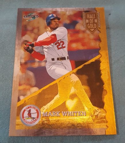 1995 Score Hall of Gold #HG106 Mark Whiten St. Louis Cardinals Baseball Card