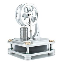 DjuiinoStar Low Temperature Stirling Engine Solid Metal Construction: A ... - $50.83