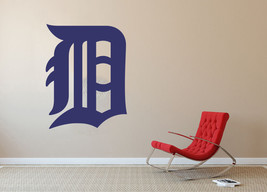 Detroit Tigers MLB Baseball Team Wall Decal Decor For Home Laptop Sports - $104.45