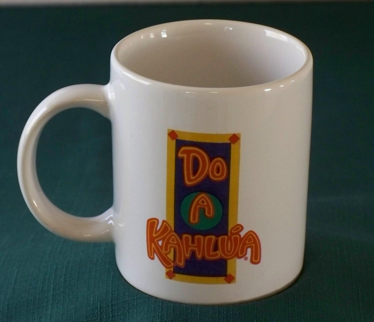 Do A Kahlua Festive Coffee Mug Very Good Condition