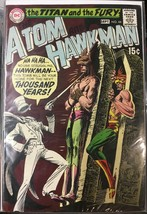 The Atom And Hawkman #44 DC Comics 1969 The Titan and the Fury - $78.39