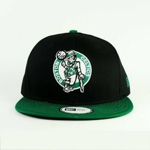 Nba Boston Celtics New Era 59FIFTY Youth 6 3/8 Black Green Cap Hat New - $19.97