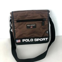 b038e1d99c Vintage 90 s Ralph Lauren POLO SPORT Purse Shoulder Messenger Brown Fest...  -  49.45