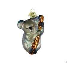 Old World Christmas Ornaments: Koala Bear Glass Blown Ornaments for Chri... - €19,30 EUR