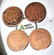 Indian Head Penny 1900, 1901, 1902, and 1903 AA20-CNP2143 Antique image 10