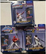 3 Starting Lineup 2 2001 Extended Series Figures Rodriguez Edmonds Bagwell - $24.49