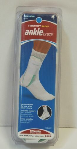 Mueller 4566 Right One Size Aircast Sport Ankle Brace Maximum Protection