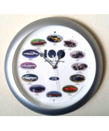 FORD 100th Anniversary HEART & SOUL Wall Clock with Real Car Sounds in Box - $30.00