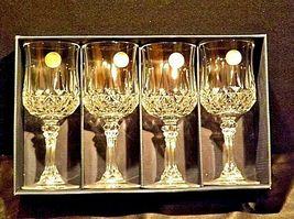 Longchamp Crystal Arques Glasses France 24 PBO Set of 3 LD19-11915 image 5
