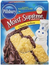 Pillsbury Moist Supreme Classic Yellow Cake Mix (OVERSTOCK SALE) - $6.92