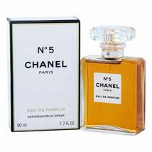Chanel No. 5 - Eau de Parfum - 1.7 oz / 50 ml - EdP Spray - NEW & Sealed image 1