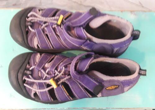 Purple Women's Keen Sandals Bungee Water Shoes Hiking Walking Size 5 Waterproof