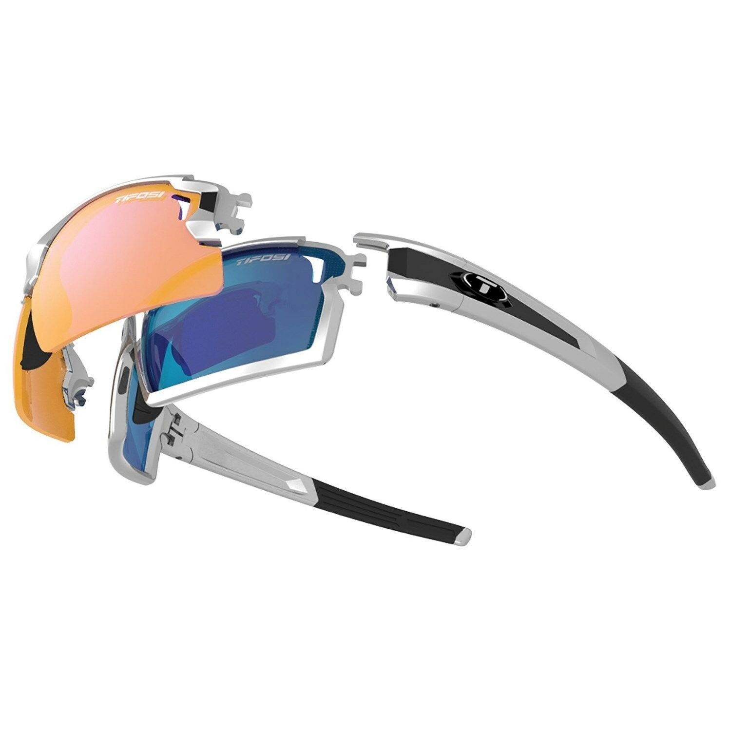 Primary image for New Tifosi Pro Escalate F.H. Sunglasses Kit   Interchangeable Lenses