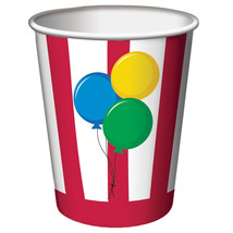 9 oz Hot/Cold Paper Cups Circus Time/Case of 96 - $52.59