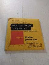 """Kodak Wratten No. 80B Gelatin Filter - 149 6041 - 75x75mm 3x3"""" Square - $12.20"""