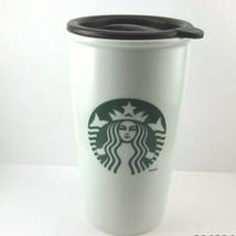 STARBUCKS COFFEE COMPANY 2011 12 oz Tall Dual Wall Ceramic Coffee Cup/Mug - $28.63