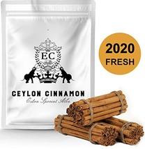 "Ceylon's Finest True Alba Cinnamon Canela Ceilan | 5"" Long Sticks | 2020... - £19.94 GBP"